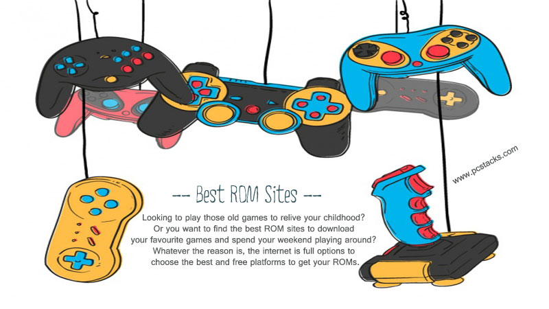 Working ROM Sites for best Gaming Experience