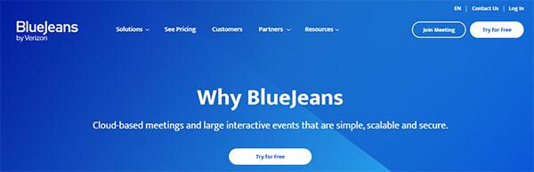 bluejeans screen sharing tool