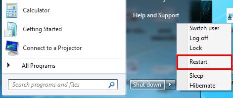 restart your computer to fix stuck update windows