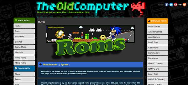 Ejecutar archivos de arranque de BIOS con Roms