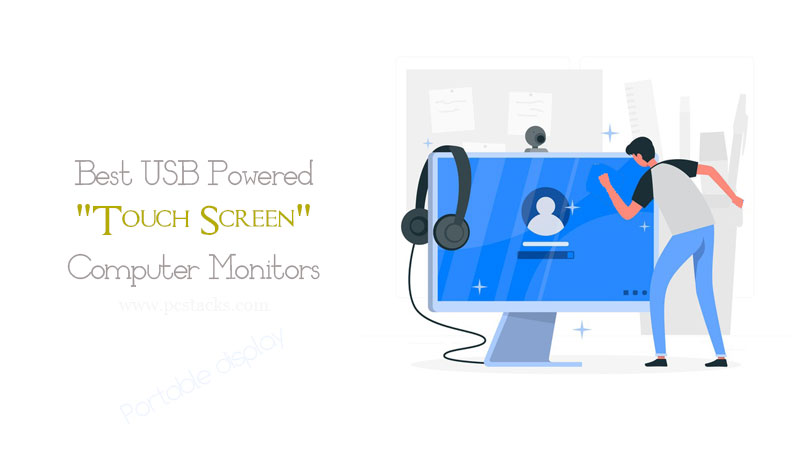 Touchscreen Computer Monitors
