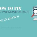 Generic PNP Monitor Issue