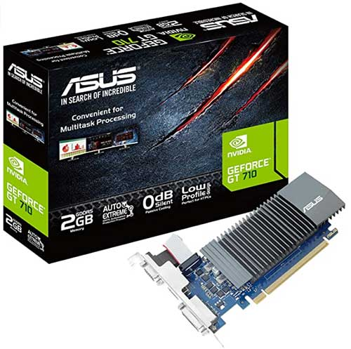 Graphics card for low profile PC