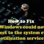 system event notification service