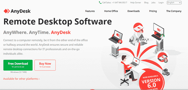 Anydesk Software for Screen View or desktop sharing