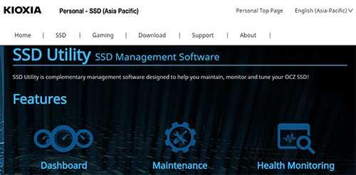 OCZ SSD Tweaker