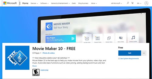 Movie Maker 10, 4K editing software for Low end computer, open-source video editor for Linux, Mac, and Windows