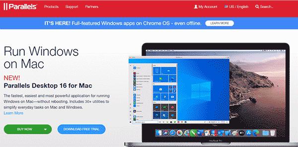 Parallels Software for desktop sharing
