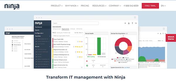 NinjaRMM Software
