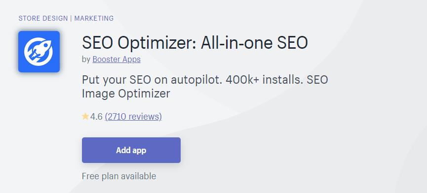 SEO Optimizer: All-in-one SEO