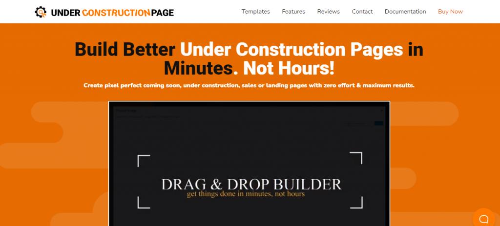 UnderConstructionPage