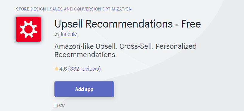 Upsell Recommendations