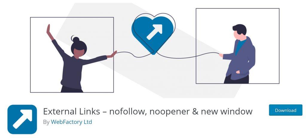 External Links- nofollow, noopener & new window
