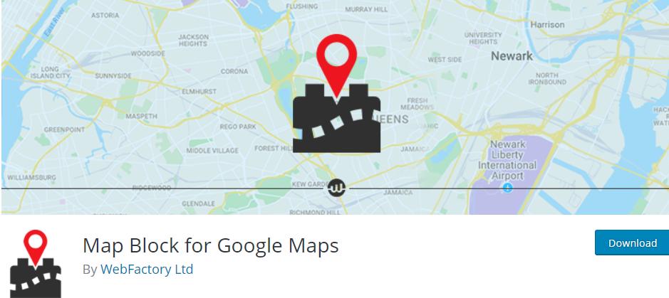 Map Blocks for Google Maps