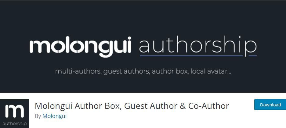 Molongui Author Box, Guest Author & Co-Author