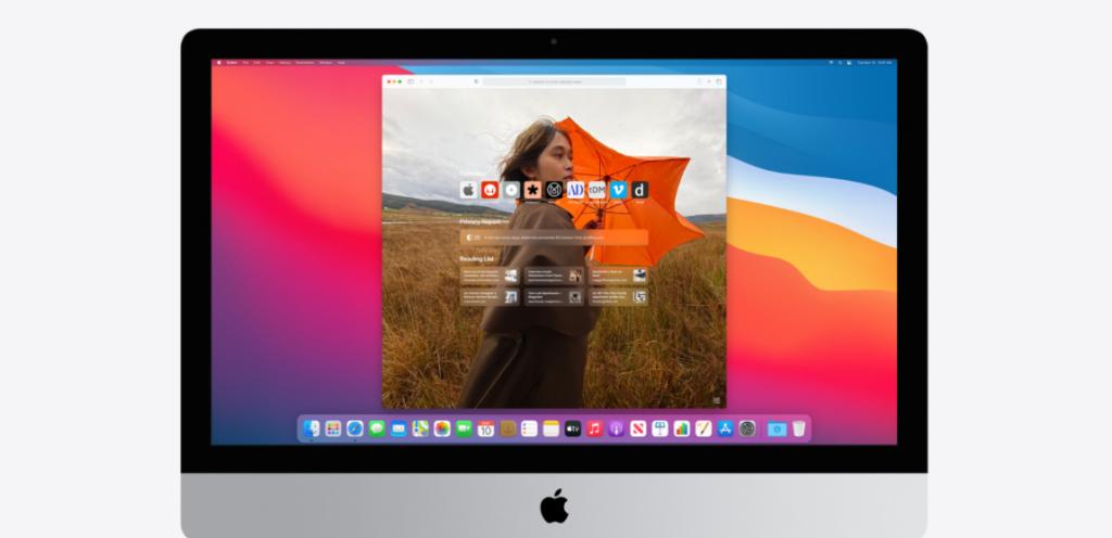 Mac user interface