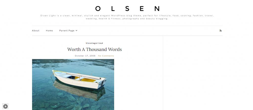 Olsen Light Theme