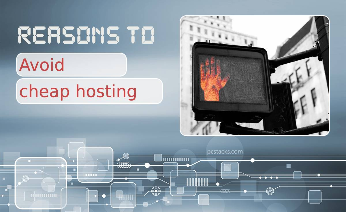 Seven Reasons to Avoid Cheap Hosting if You Don't Want Your Business to Go Downhill