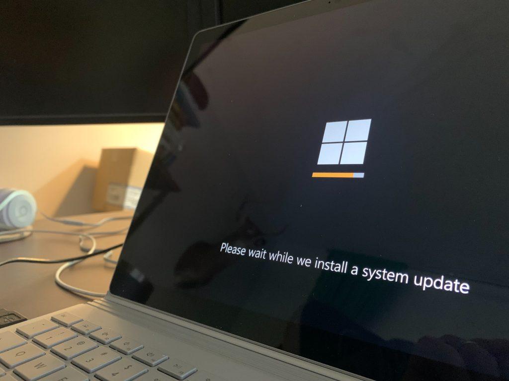 System update installation
