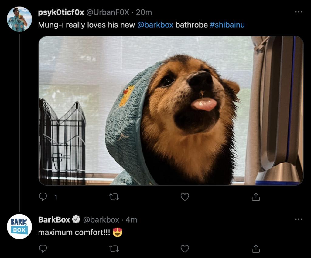 BarkBox Twitter