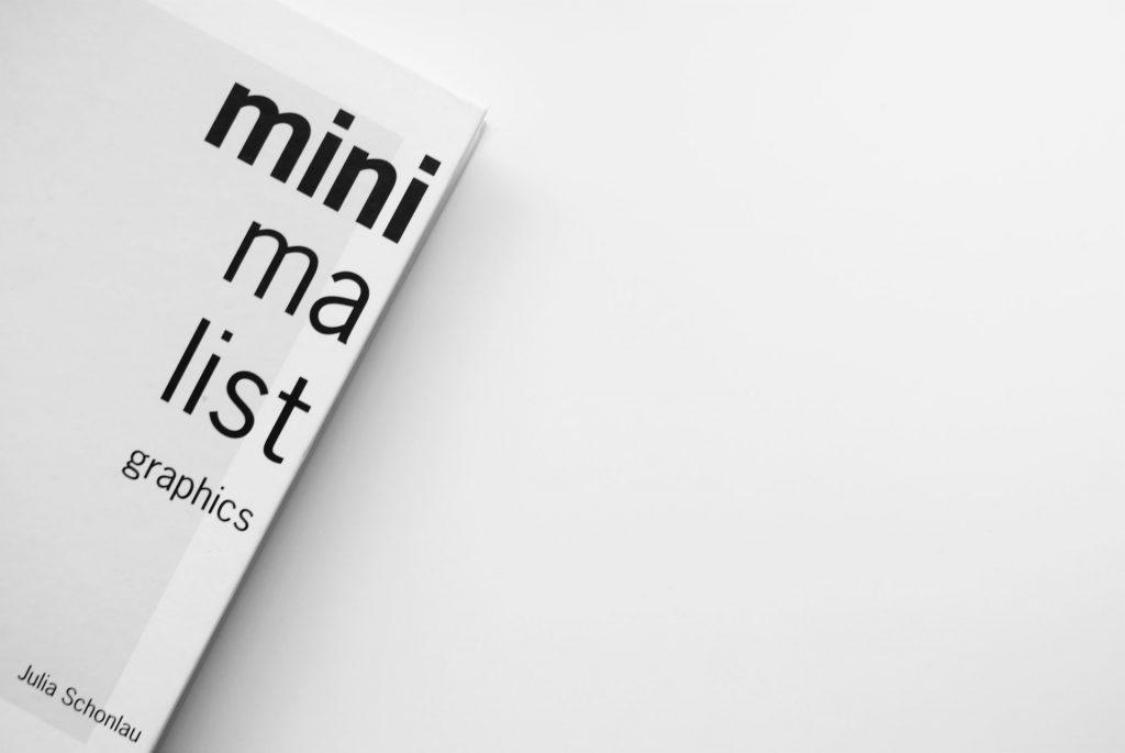 Minimalistic flyer
