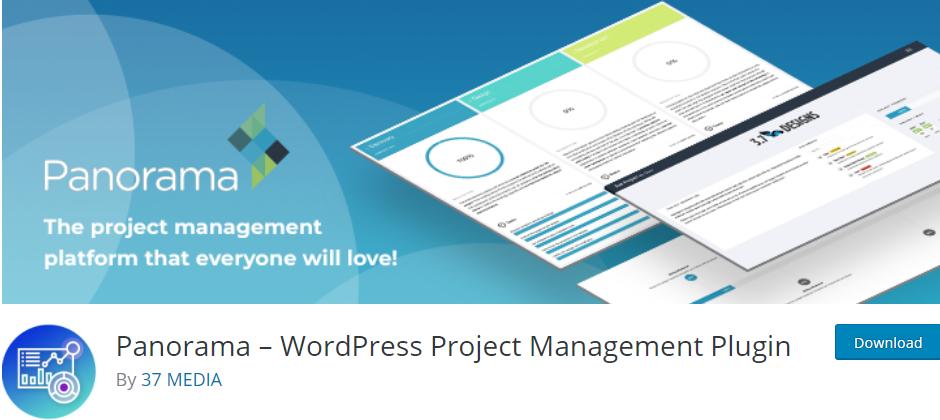 Panorama - WordPress Project Management Plugin