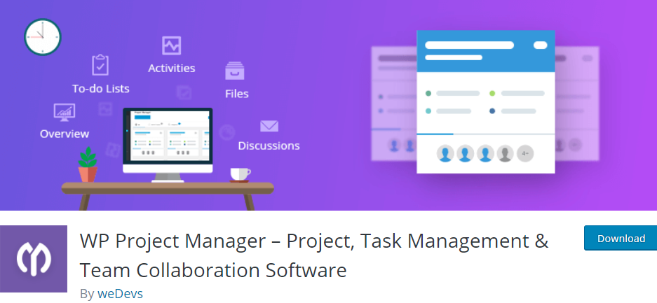 WP Project Manager - Project, Task Management & Team Collaboration Software