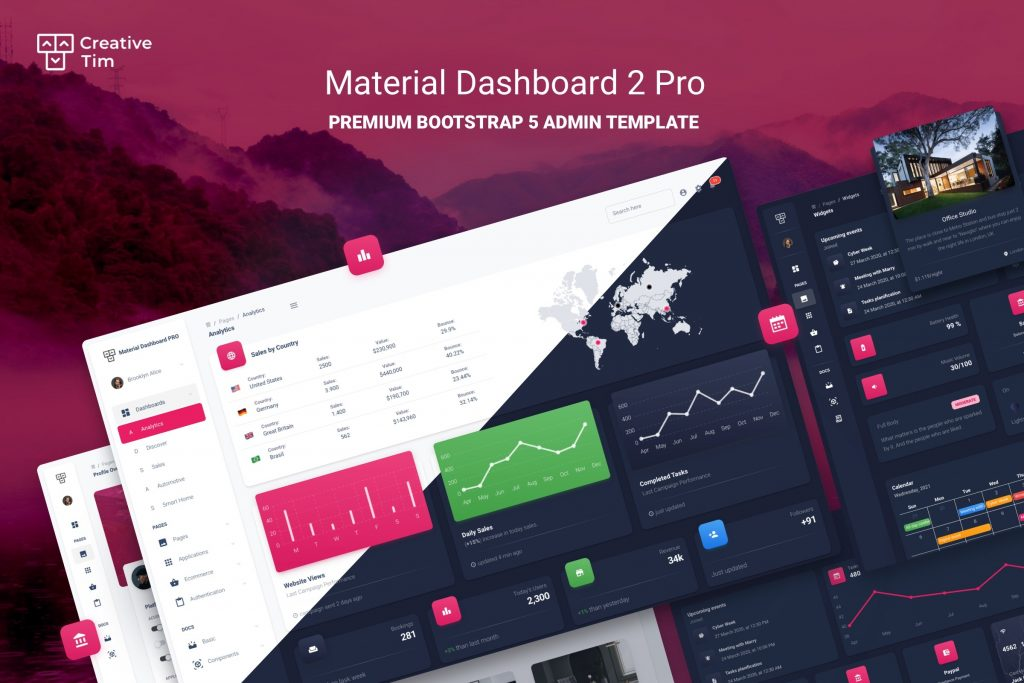 Material Dashboard 2 PRO