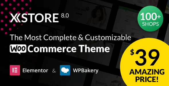 The Most Complete and Customizable WooCommerce Theme