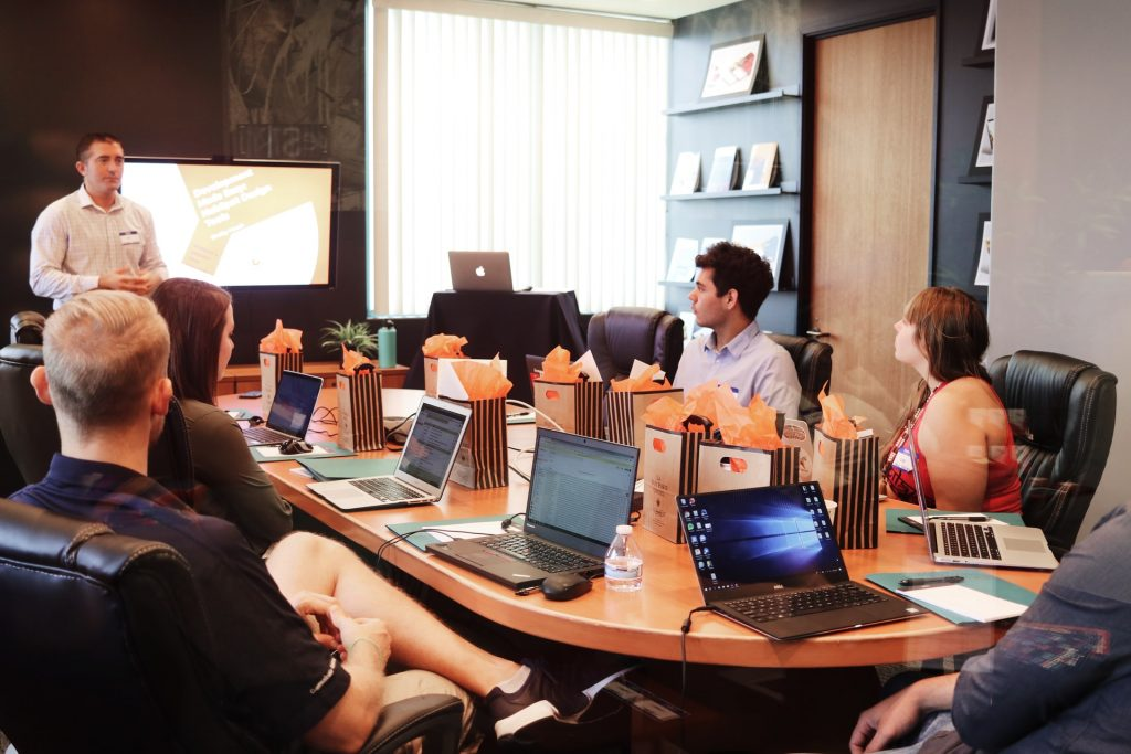 Team of developers